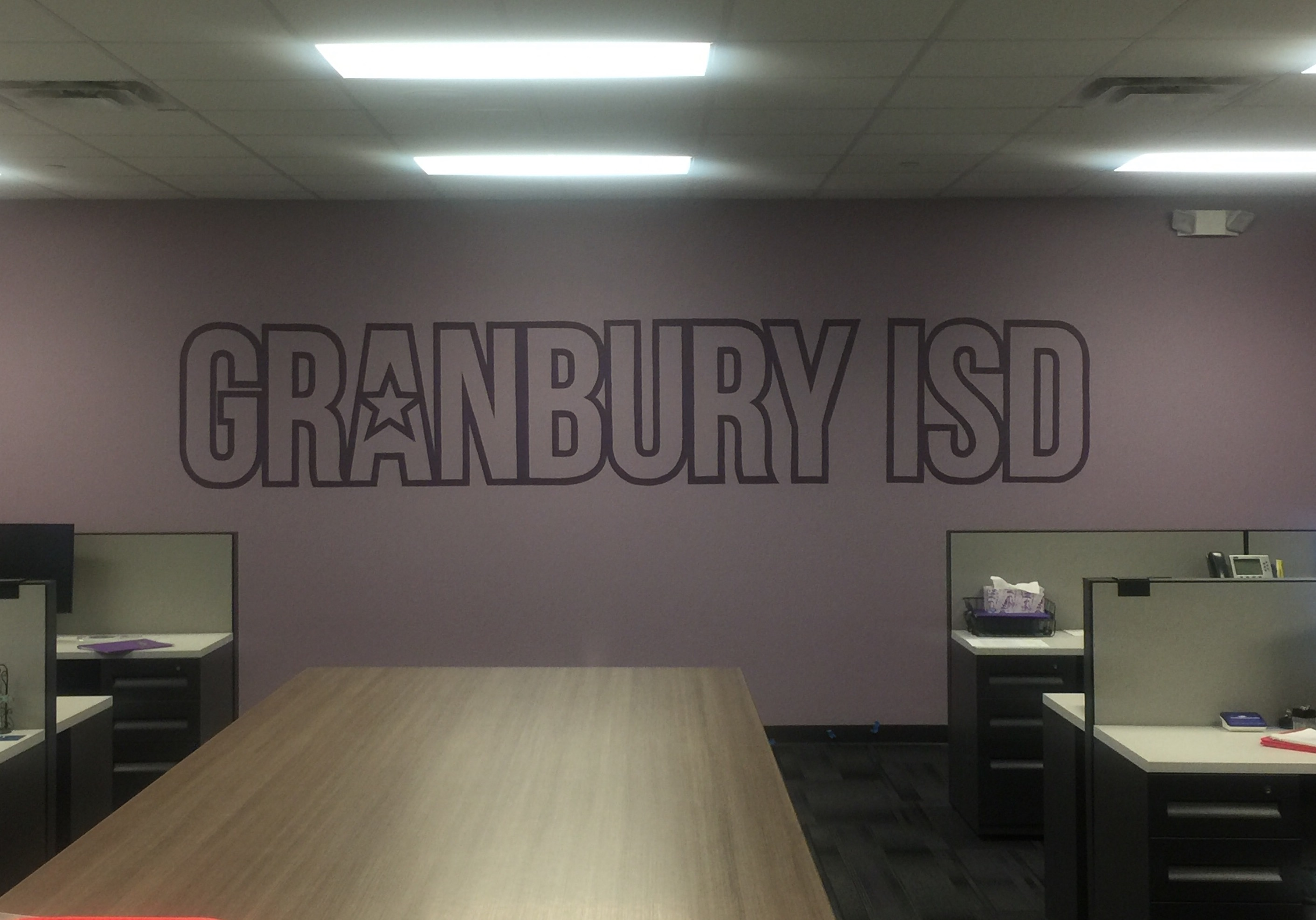 Granbury Hand Painted Murals